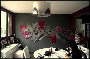 Deco Murale Design Salon DECOGRAFFIK Deco Graff Bureaux