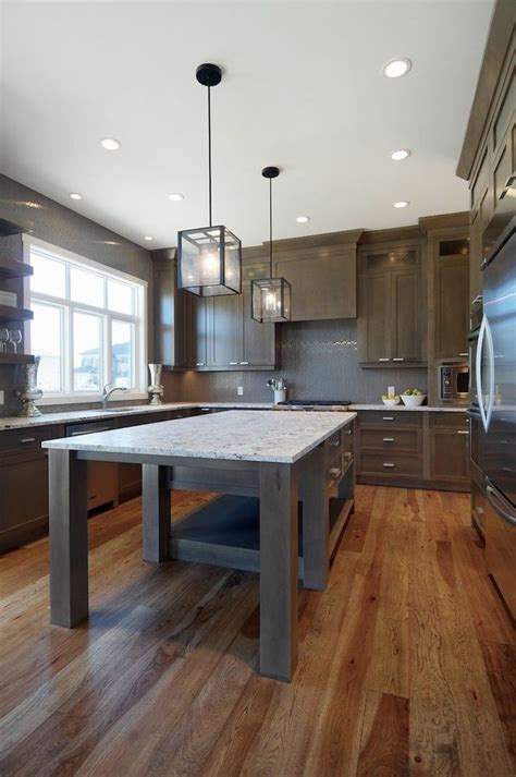 grey stained maple kitchen contemporary  maple