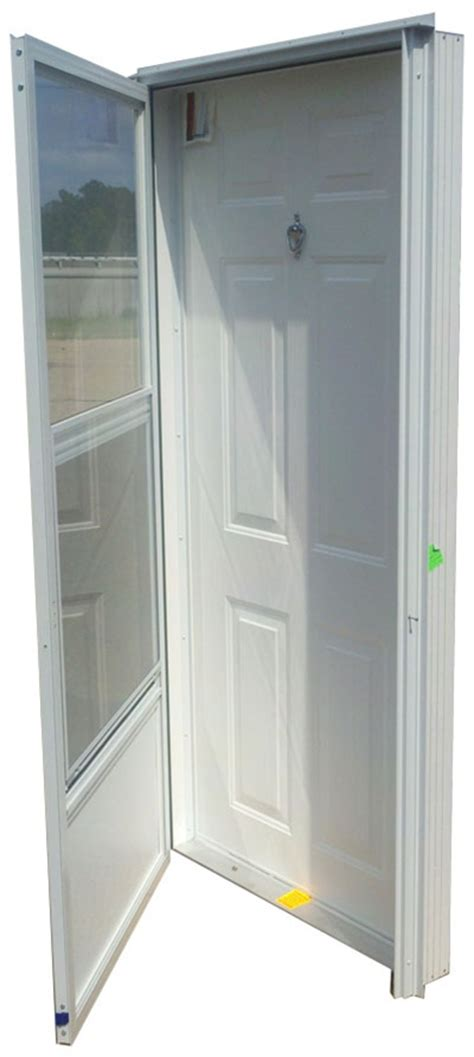 steel solid door  peephole rh  mobile home