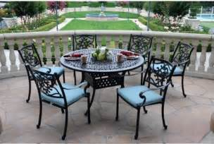 cast aluminum patio dining sets patio design ideas