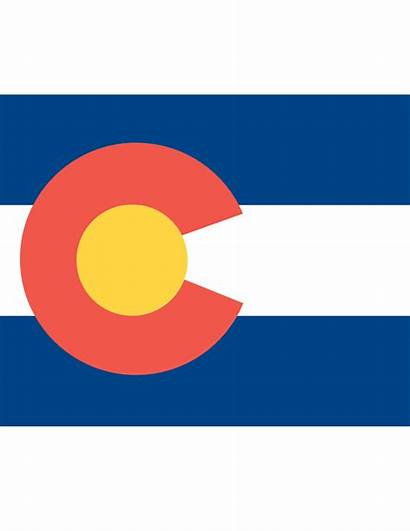 Colorado Flag Vector Clipart Clip Cliparts State