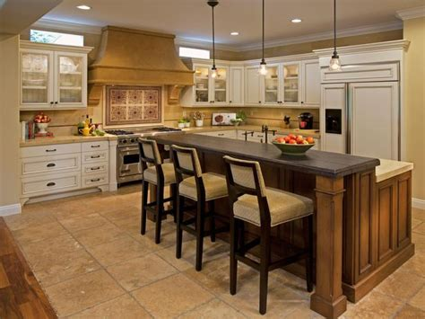 eat in kitchen islands traditional eat in kitchen with soothing color palette hgtv