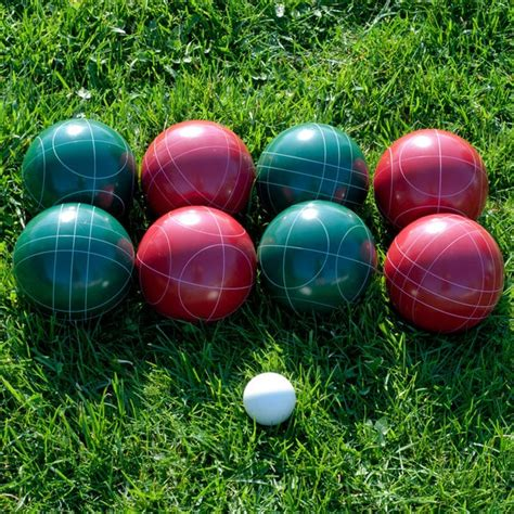 Regulation-size Bocce Ball Set - Free Shipping Today ...