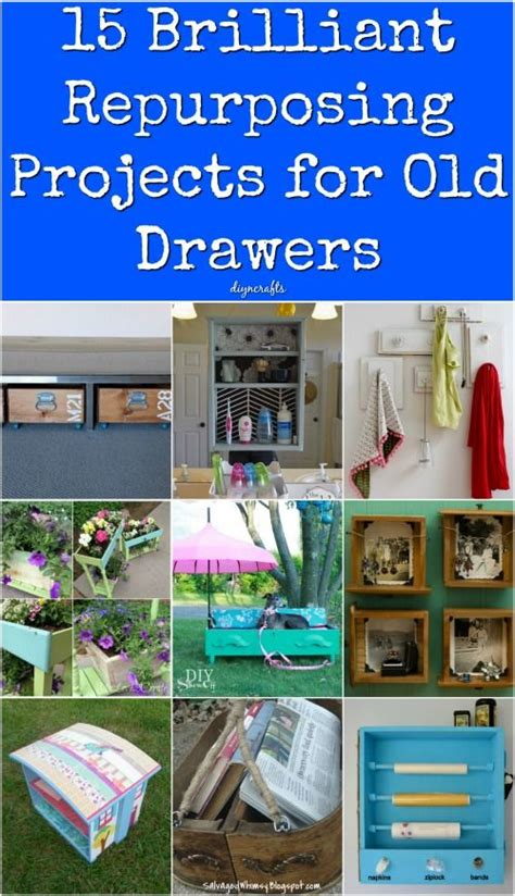 brilliant repurposing projects   drawers
