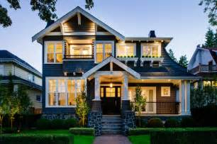 the style of a house point grey craftsman craftsman exterior vancouver