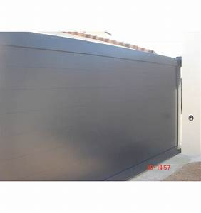 Portail Alu Coulissant : prix portail coulissant aluminium 4m portail coulissant ~ Edinachiropracticcenter.com Idées de Décoration