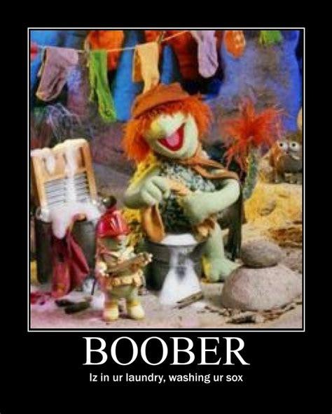 Fraggle Rock Meme - boober motivational poster by blackwolf008 on deviantart