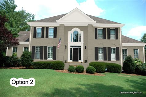 The Decorologist Choose Exterior Paint Colors With