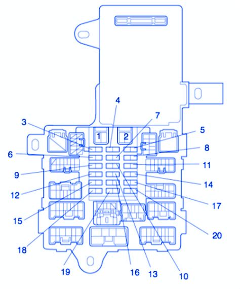 1992 Lexu Ls400 Fuse Box Diagram by Lexus Ct200h 2011 Fuse Box Block Circuit Breaker Diagram