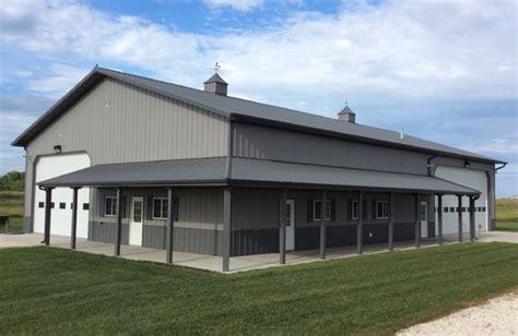 metal buildings  living quarters  plan