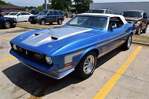 Lot Shots Find of the Week: 1972 Ford Mustang Mach 1 Convertible - OnAllCylinders