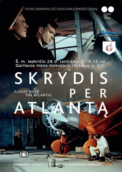 """Filmas """"Skrydis per Atlantą"""