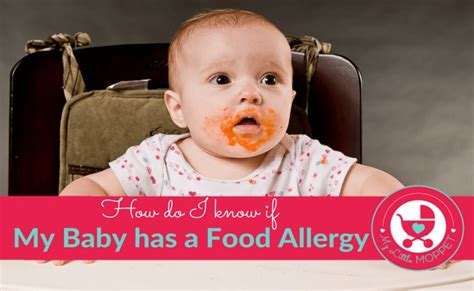 How Do I Know If My Baby Has A Food Allergy