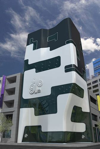 Gq Bank Building Concept  Design Milk