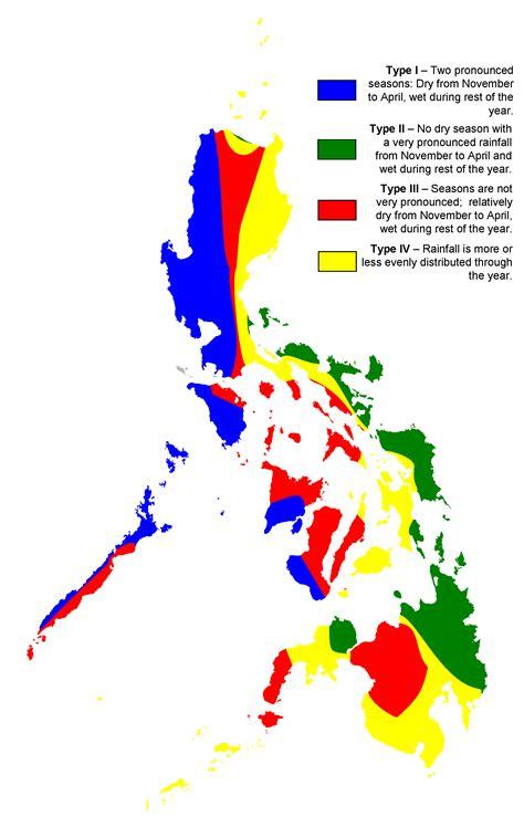 philippine climate map mapsofnet