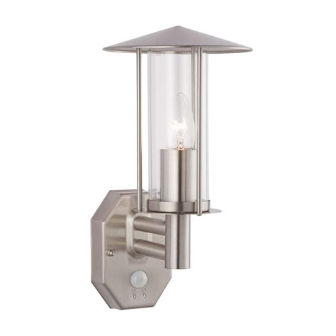 searchlight maine outdoor wall light with pir sensor decoratingspecial