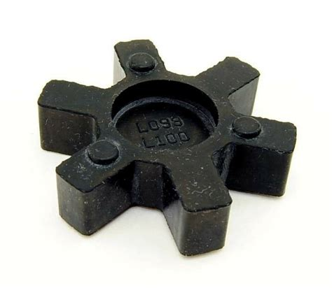 flexible nbr rubber spider insert fits   lovejoy martin  jaw coupling ebay