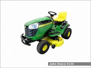 John Deere E130 Lawn Tractor  Review And Specs