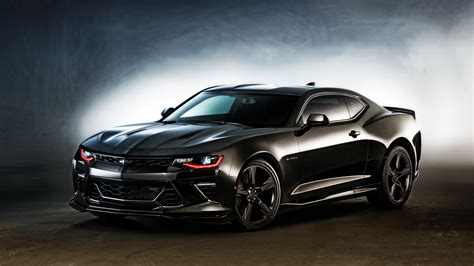 2016 Chevrolet Camaro Black Wallpaper