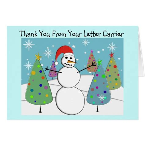thanks mail carrier warming up letter carrier thank you cards myideasbedroom com