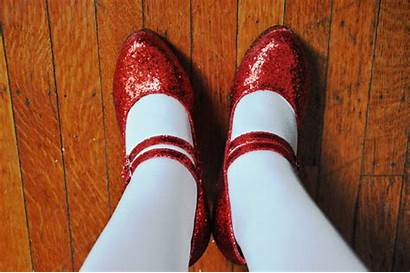Heels Clicking Slippers Gifs Ruby Shoe Lace