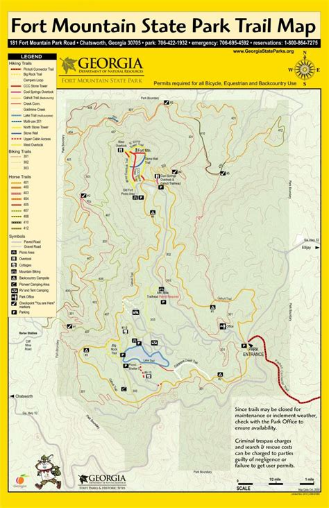 Get directions, find nearby businesses and places, and much more. Fort Mountain State Park photo    SINGLETRACKS.COM
