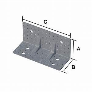 Equerre De Fixation Charpente : equerre renforc e pour clt connecteurs charpente ~ Melissatoandfro.com Idées de Décoration