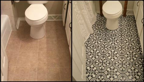 bathroom renovation ideas for budget give your bathroom a look by chalk painting floor