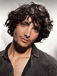 Long Curly Hairstyles for Wavy Hair Men