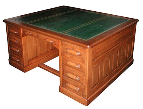 Fantastic American Oak Partners Desk C1885 For Sale. Silverware Dividers For Drawers. Office Depot Desk Sets. L Shaped Work Desk. Wood Slabs For Tables. Seiko Desk Clocks. Glass Top Display Coffee Table. Outdoor Pub Table And Chairs. Table Top Ice Machine