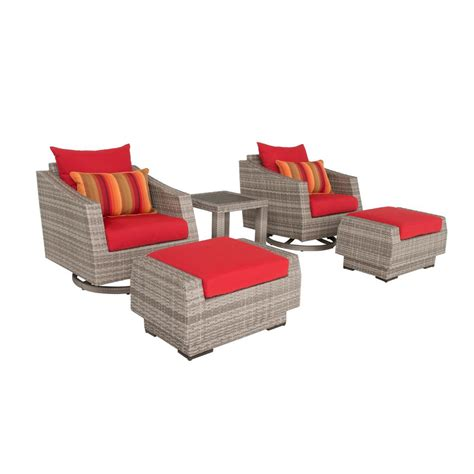 rst brands cannes 5 all weather wicker patio deluxe