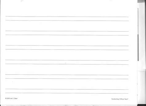 handwriting  tears printable paper  images