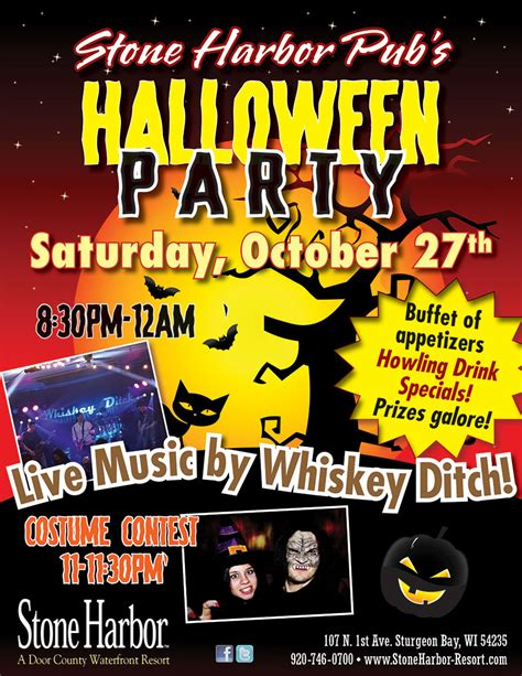 We are super excited that alaska is still a go, but in 2021! Halloween Party • Costume Contest • Live Music • Saturday ~ Oct 27 - Stone Harbor Resort