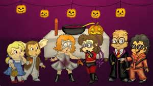 Alvin And The Chipmunks Halloween by Chipmunk Halloween Party By Boredstupid100 On Deviantart