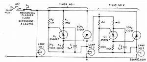 Sequential Flasher For Automotive Turn Signals