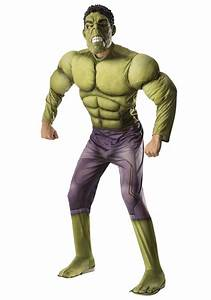 Deluxe Hulk Avengers 2 Costume for Men