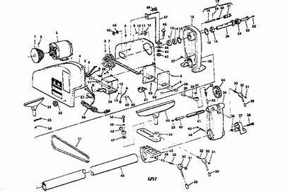 Lathe Craftsman Wood Parts Turning Diagram Inch