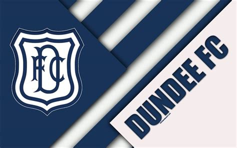 Download wallpapers Dundee FC, 4k, material design ...