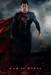 The Geeky Nerfherder: Movie Poster Art: 'Man Of Steel' (2013)