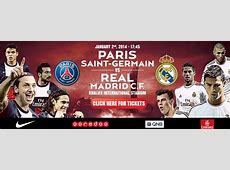 Tickets for PSG VS Real Madrid on Sale Now Qatar