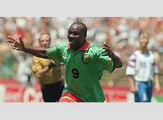 Roger Milla A player so amazing a lie sat unchanged on