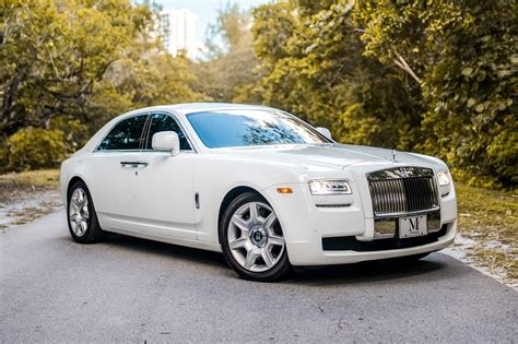 roll royce ghost rolls royce ghost series ii white miami exotics exotic