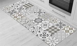 Tapis Carreau Ciment : tapis de cuisine carreau ciment groupon ~ Voncanada.com Idées de Décoration