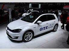 Volkswagen Golf GTE PlugIn Hybrid Live Photos From Geneva