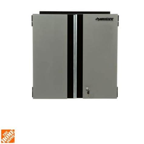 home depot husky cabinet husky 28 in wall cabinet 28wc01bp thd the home depot