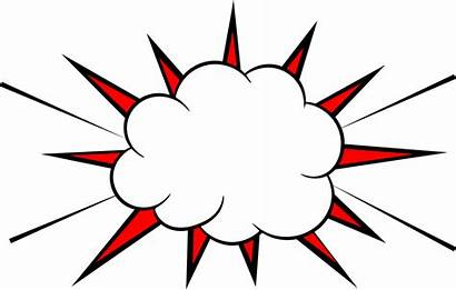 Boom Comic Explosion Transparent Clipart Burst Vector