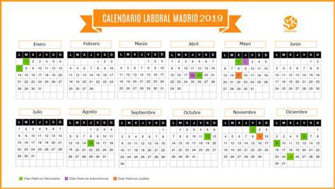 calendario laboral madrid suarez rodriguez asesores