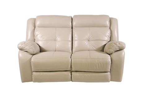 futura leather pebble power reclining loveseat homeworld