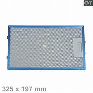 Fettfilter metall 325x197mm aeg 405510169 metallfettfilter for Fettfilter für dunstabzugshaube