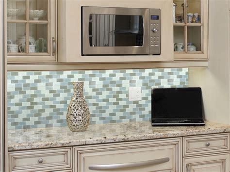 Wonderful White Mosaic Tile Backsplash